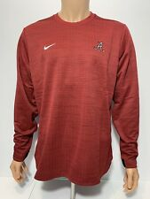 NEW Alabama Crimson Tide Nike Long Sleeve Modern Top Sweater Men's L ROLL TIDE