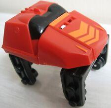 MICRO K'NEX Red Coaster Car 2415521 knex roller vehicle orange chevron matt