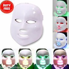 Portable LED 7 Colors Photo PDT Skin Rejuvenation Therapy Photodynamics PDT