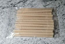 20 X (10 Sets) Organic Quality *Earwax* Candles - Hollow Cylinder Beeswax / Soy