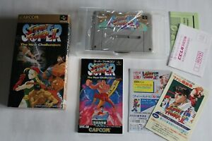 NINTENDO Super Famicom: Super Street Fighter 2 The New Challengers / Complet.
