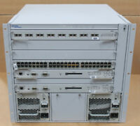 Nortel Networks Passport 8006 Switch 6-Slot Chassis DS1402002 2x 690W + Modules