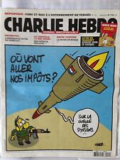 """CHARLIE HEBDO N 1106 """"SUR LA GUEULE DES SYRIENS"""" CHARB"""