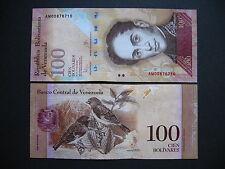 Venezuela 100 bolívares 23.6.2015 (PNEW) UNC