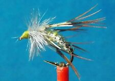 Graphic Caddis Emerger May Fly   size  14   OLIVE