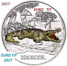PIECE  DE  3 €  AUTRICHE  COMMEMORATIVE  2017  50 000  Ex  CROCODILE disponible