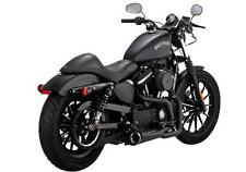 Vance and Hines Comp Series 2 Into 1 Black 75-118-9 Fits 2014 Sportster VH-0192