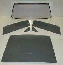 1967 1968 MUSTANG FASTBACK GLASS SET WINDSHIELD SIDE & BACK GLASS GREY TINT
