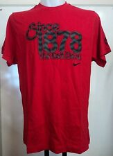 MANCHESTER UNITED BOYS 1878 RED T-SHIRT BY NIKE SIZE SMALL BOYS BRAND NEW