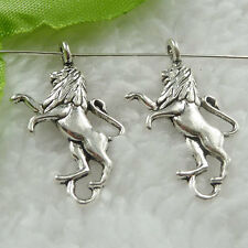 Free Ship 240 pieces tibet silver dog charms 28x16mm #641