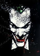 Joker Batman Oil Painting 20x14 NOT print or poster Framing Avail