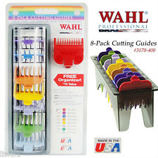Wahl #3170-400 Clipper Combs  #1 thru 8  COLOR CODED