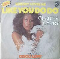 "7"" 1976 RARE ! CLAUDJA BARRY (= BONEY M. ) Nobody Loves Me Like You Do"
