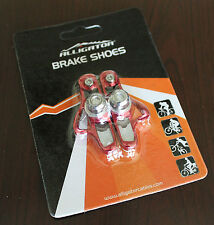 Alligator Super Light Road Bike Brake Shoes Shimano for 105 Ultegra Dura Ace RED