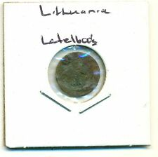 An OLD COIN from LITHUANIA MINTED in the LATE 1600's (Lot #16)