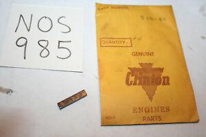 NOS Genuine Clinton Flywheel Key 148-4 10399 C