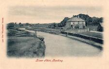 River Ardur Upper Beeding Nr Steyning unused old pc Wyndham Series
