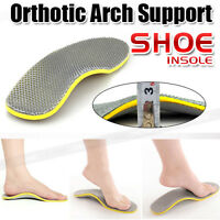 Orthotic Shoe Insoles Arch Support Pain Relief Orthopedic Inner Sole Men/Women