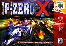 ***F-ZERO X N64 NINTENDO 64 GAME COSMETIC WEAR~~~