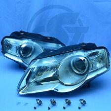 2x Scheinwerfer VW Passat 3C B6 05-10 links rechts Set Klarglas mit Leuchtmittel