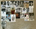 BASEBALL+COLLECTION+OF+TWENTY+ONE+Autograph+Signed+Photos+