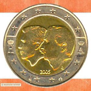 Sondermünzen Belgien: 2 Euro Münze 2005 Wirtschaftsunion Sondermünze Gedenkmünze