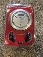 Durabrand Anti-Skip CD Player with MP3 Playback Model CD-968 Silver New, Sealed