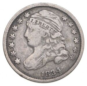 1834 Capped Bust Dime *0211