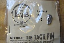 OFFICIAL TIE TACK PIN,LUDWIG,THE BEATLES 1964 ROCK N ROLL BAND GROUP RARE pin