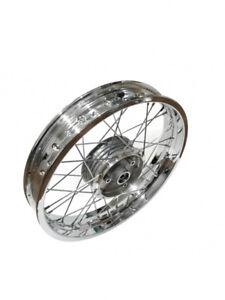 Speichenrad Felge Rad 2,15x16Zoll Stahl verchromt chrom f. Simson S51 S50 KR51