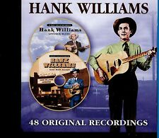 Hank Williams / 48 Original Recordings - 2CD - MINT