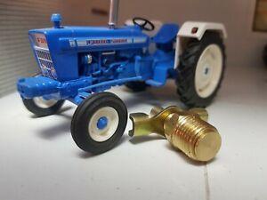 Tractor Radiator Engine Block Drain Tap Brass 1/4 BSP Ford 2000 3000 4000 5000