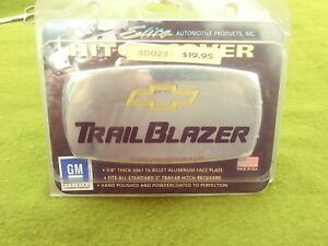 """CHEVY TRAIL BLAZER Trailer Hitch T6 Billet Aluminum Cover Plate 2"""" Receiver USA"""