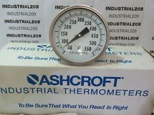 ASHCROFT 9'' BIMETAL THERMOMETER 9106 NEW