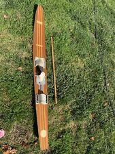 Thompson Vintage Water Skis Pro Comb Model  cm 691 Wood,  mahogany and ash