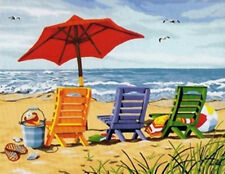Diy oil Painting Paint by Numbers Kits for Adult- Leisure Holiday
