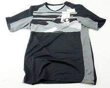 Pearl Izumi Men's Launch Cycling Jersey M Short Sleeve Black Grey MTB Mountain