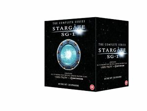 STARGATE SG-1 COMPLETE SERIES 1-10+ARK OF TRUTH+CONTINUUM 60 DISC BOX SET R4 NEW