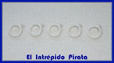 PLAYMOBIL - Pañuelo Blanco Diadema Aldeano Belen Colonial Belen Soldado Marrón