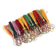 100Pcs Tassel Silk Tassels Trim Cotton Decor Trimming Lace Handmade Craft Sewing