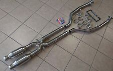 BMW E90 E92 E93 M3 08-13 TRACK SPEC Exhaust Dual Resonator Mid Pipe X Pipe 63mm