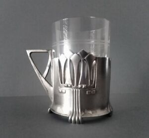 WMF modell nº345 Albin Müller secessionist/jugendstil glass holder, 1905