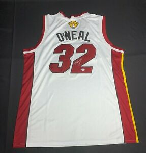 Shaquille O'Neal Signed Miami Heat Jersey PSA 9A24607 Shaq Autographed