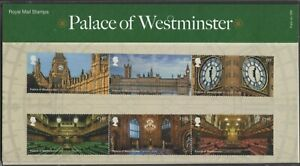 2020  Palace of Westminster + Mini Sheet Presentation Pack 589 - Ref:5615