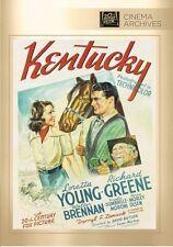 Kentucky DVD 1938 Lorretta Young - Richard Greene - Walter Brennan 2014 Release!