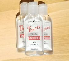 Young Living Thieves Hand Purifier 3 Pack - 1oz Bottles - Free Shipping - New