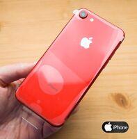 Apple iPhone  128GB ORIGINAL Libre I RED I PRECINTADO