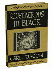 Revelations in Black by CARL JACOBI ~ First Edition 1947 ~ Arkham House Vampire