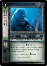 LoTR TCG The Hunters Ugluk's Sword, Weapon Of Command 15R173