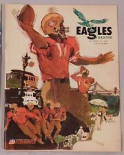 1967 Philadelphia Eagles vs San Francisco 49ers Program 10/15/67